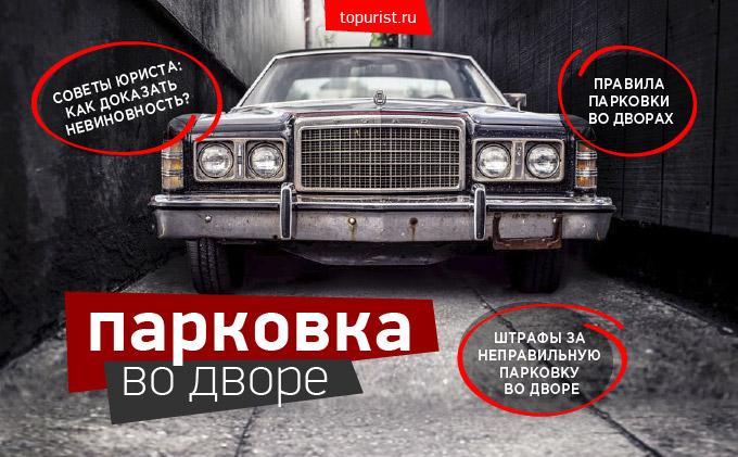 инфографика - парковка и штрафы